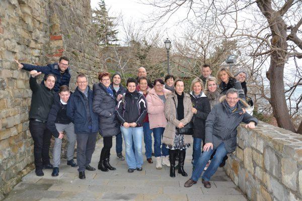 9 gennaio 2018 - staff a Trieste